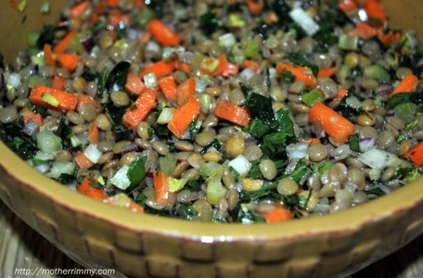 Funky and Fresh: Tarragon and Lentil Salad