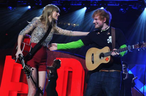 Taylor Swift Impresses Ed Sheeran With her Stir-Fry