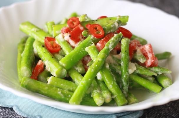 Foodista | Easy Stir-Fried Asparagus from Season with Spice