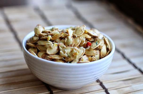 Thai Style Roasted Pumpkin Seeds