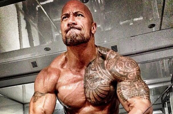 The Rock Eats Seven Meals a Day for 'Hercules'