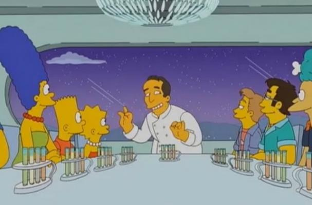 Jose Andres on The Simpsons Food Wife episode