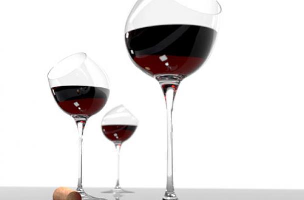 Tipsy Wine Testing Glass