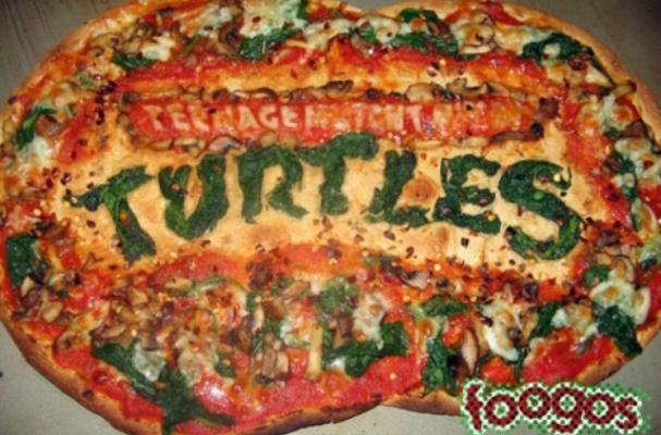 Foodista   Teenage Mutant Ninja Turtles Pizza