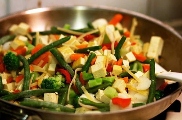 Foodista | Meatless Monday: Vegetable and Tofu Stir Fry