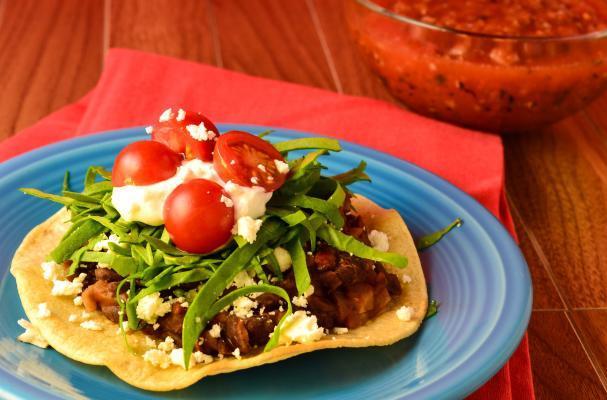Foodista | Gluten-Free Vegetarian Tostadas