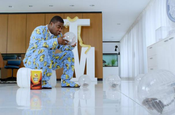 Tracy Morgan Stars in New Wheat Thins Commercial