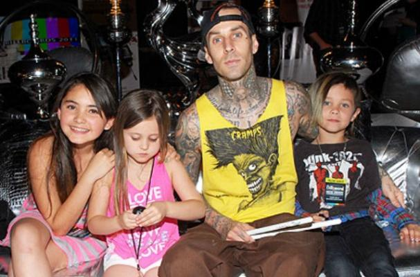 travis barker kids vegan