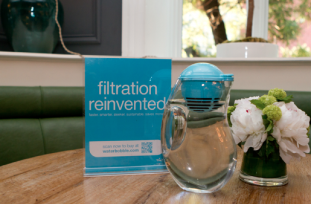 Foodista the bobble jug is an attractive water filtering pitcher - Bobble water pitcher ...