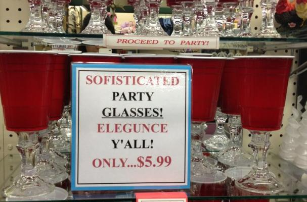 'Sofisticated' Party Glasses