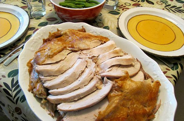 Roasted and Carved Turkey