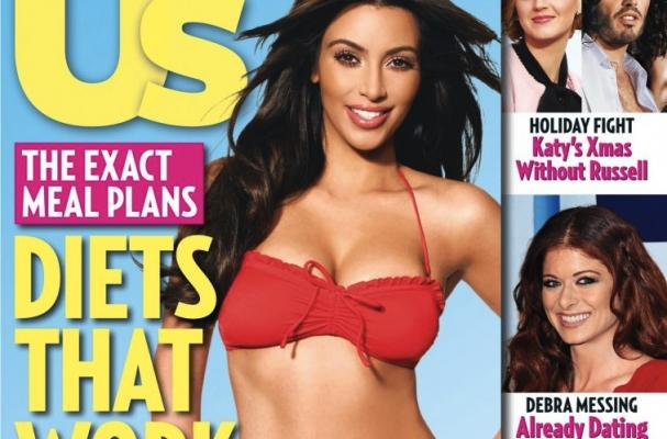 Foodista | Kim Kardashian Shares Size-2 Diet in Us Weekly