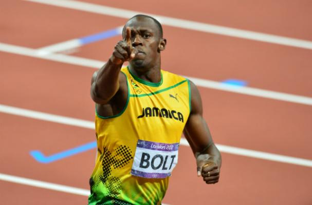 Usain Bolt Celebrates Olympic Wins With $125,000 Bottle of Champagne