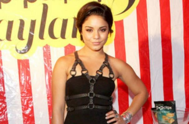 Vanessa Hudges Poses at the Popchips Playland Party