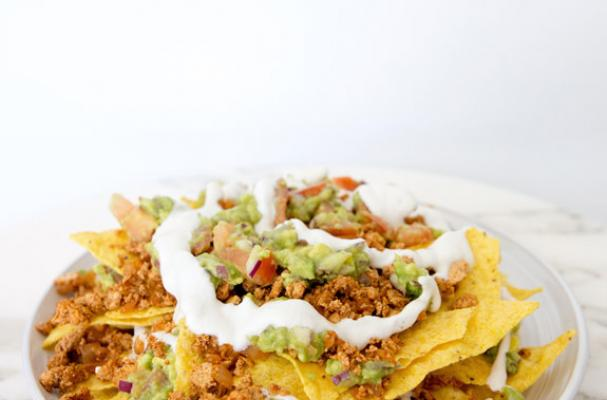 Foodista | Superbowl Bites: Vegan Nachos