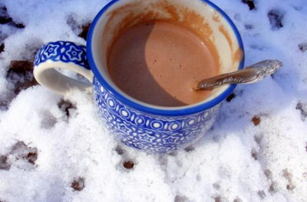 "Chocolate ""Doughnut"" Hot Chocolate"