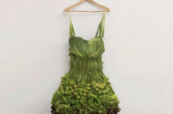 foodista this vegetable dress is a herbivore s dream