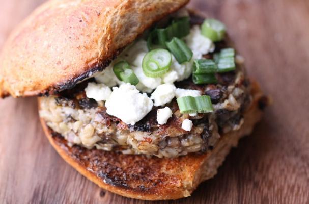 Wild Mushroom-Lentil Burgers photo