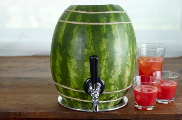 watermelon keg summer cocktail