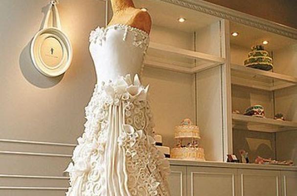 Dress Form Cake Pops