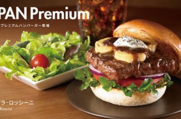 Wendy's Foie Gras Burger
