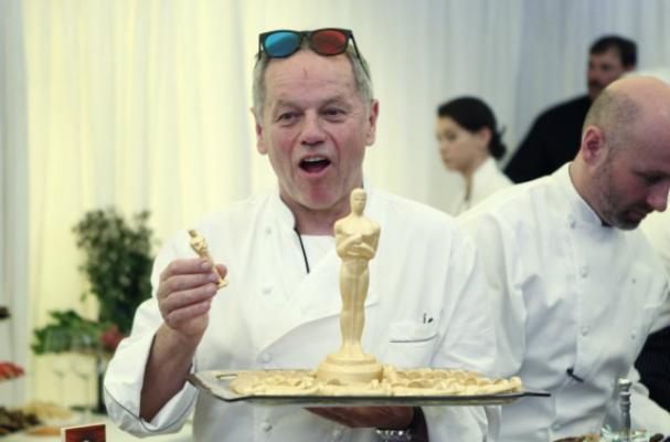 Wolfgang Puck Says Oscars Menu Consists of his 'Greatest Hits'