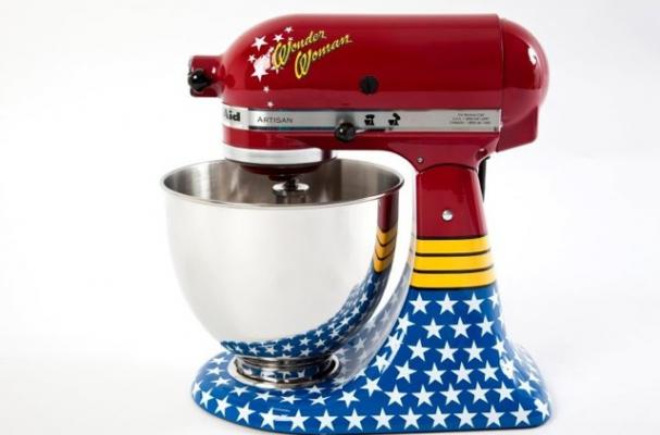 Foodista Wonder Woman Kitchenaid Stand Mixer Is For A