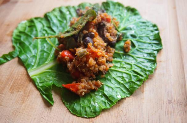 Totally Healthy Collard Green Wraps