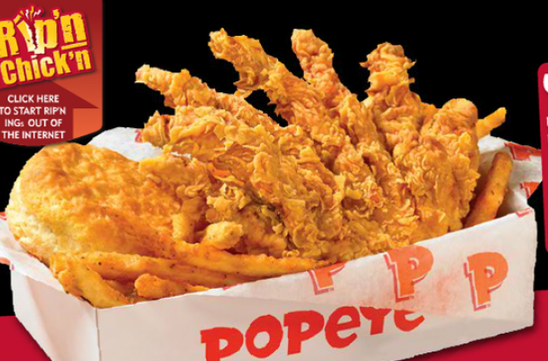 Foodista Popeyes Fried Chicken Chips Are A Lethal Hybrid