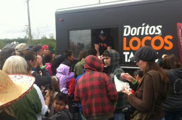Taco Bell Delivers 10,000 Doritos Locos Tacos to Alaska