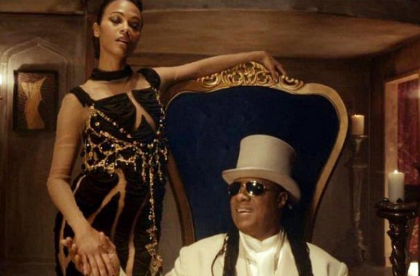 Stevie Wonder and Zoe Saldana Star in Bud Light Super Bowl Commercial