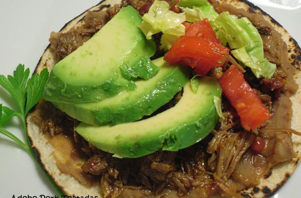 Image of Adobo Pork Tostadas, Foodista