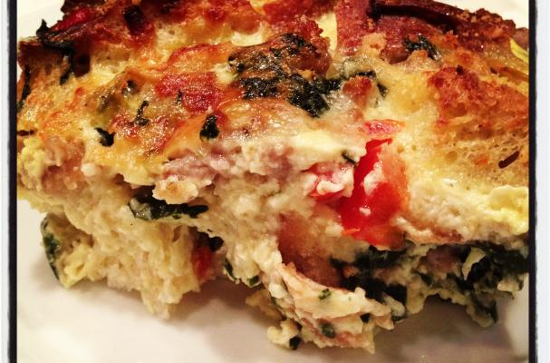 ... , and Food News | Savory Sausage, Spinach & Artichoke Bread Pudding