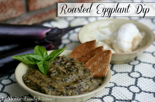 Foodista | Recipes, Cooking Tips, and Food News | Roasted Eggplant Dip
