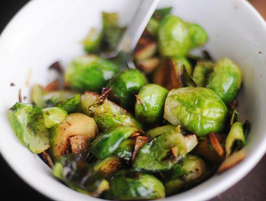Brussel Sprout Recipes Oven Balsamic Vinegar