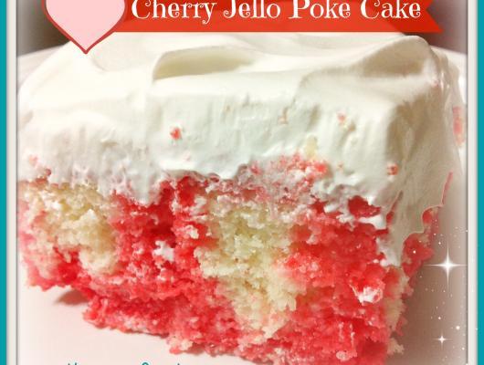 Cherry Jello Cake Recipe