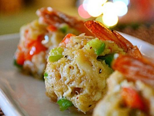 Crab Cake Stuffed Flounder Nutrtion