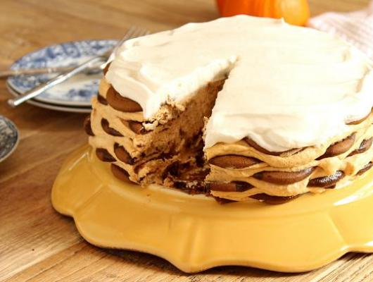 Pumpkin Icebox Cake Recipe