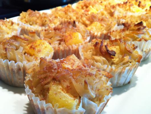 Gluten Free Pineapple Cake Thermomix