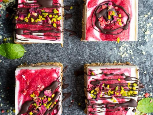 Raspberry Ripple Layer Cake Recipe