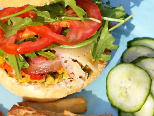 Latin Burger Food Truck Menu