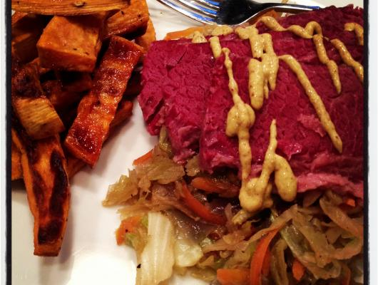 Image Result For Corned Beef And Cabbage In Oven