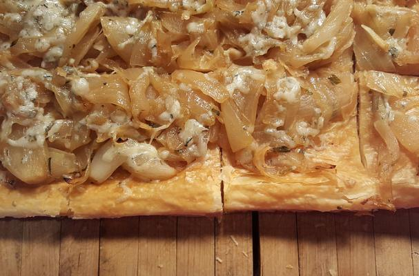 Sweet Onion and Gorgonzola Dolce Tart