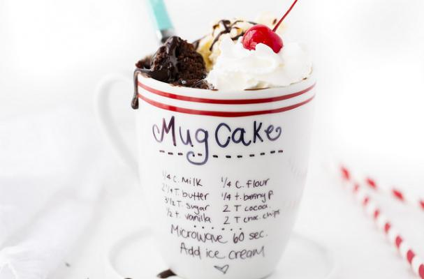 5-Minute Chocolate Mug Cake