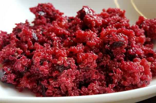 Roasted Beets with Quinoa