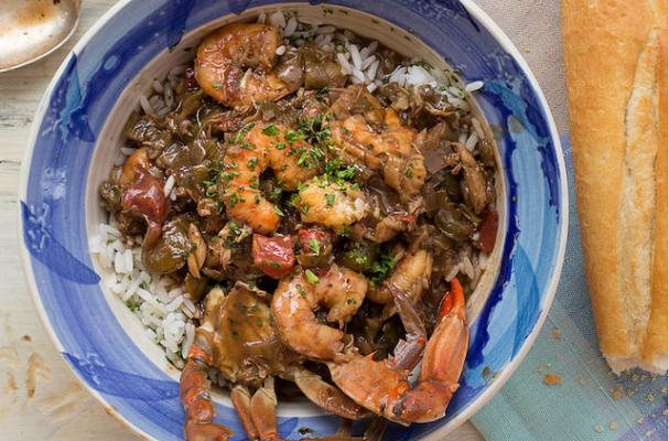 LUCY'S SIGNATURE SUMMER SEAFOOD GUMBO