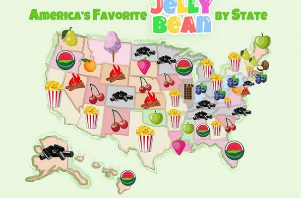 Easter Trivia: What are the most popular Jelly Bean Flavors in America?