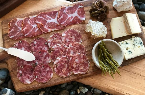 Artisan charcuterie and cheese