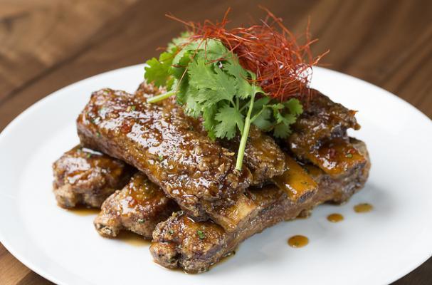 Chef Morimoto's Hoisin Chili Sticky Spare Ribs Recipe