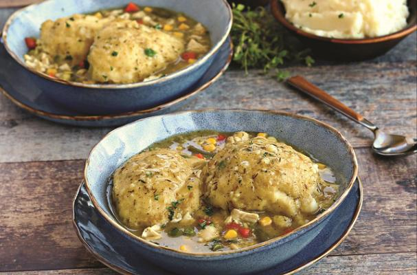 Gluten-Free Dairy-Free Chicken and Dumplings Recipe